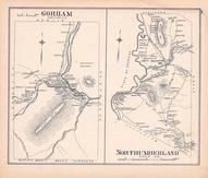 Gorham, Northumberland, New Hampshire State Atlas 1892 Uncolored